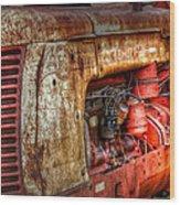 Cockshutt Tractor Wood Print