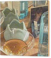 Cocktail Party 2 1211 Wood Print