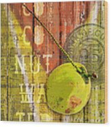 Coconut Water Wood Print