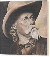 Cody - Western Gentleman Wood Print