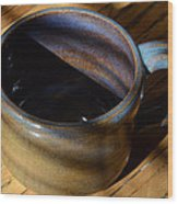 Coffee Connoisseur No.3 Wood Print by Christine Belt