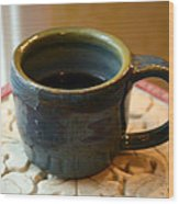 Coffee Connoisseur No.5 Wood Print by Christine Belt