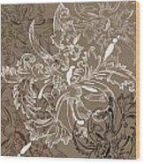 Coffee Flowers 11 Wood Print