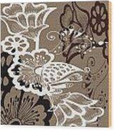 Coffee Flowers 9 Wood Print