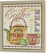 Coffee-jp2573 Wood Print