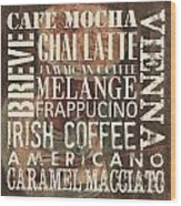 Coffee Of The Day 1 Wood Print by Debbie DeWitt