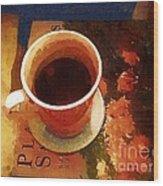 Coffeetable Book Wood Print