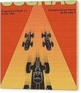 Cognac France F3 Grand Prix 1964 Wood Print