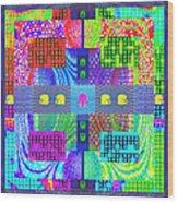 Cognitive Quilt Wood Print
