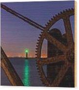 Cogwheel Framing Wood Print