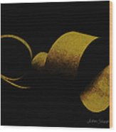 Coil Wood Print