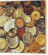 Coinage Wood Print