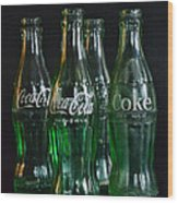 Coke Bottles From The 1950s Wood Print