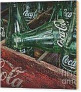 Coke Return For Deposit Wood Print