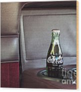 Coke To Go Wood Print