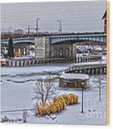 Col Patrick O' Rorke Memorial Bridge Wood Print
