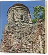 Colchester Castle Wood Print