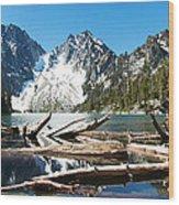 Colchuck Lake Panorama Wood Print