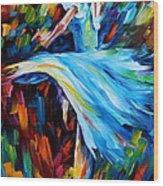 Cold Ballet Wood Print