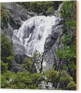 Cold Rush - Yosemite National Park Wood Print