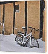 Cold Storage Wood Print