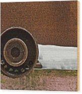 Cold Vein Wood Print by Odd Jeppesen