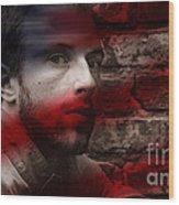 Coldplay Chris Martin Wood Print