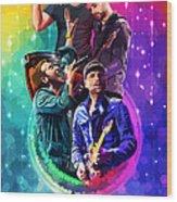 Coldplay Mylo Xyloto Wood Print