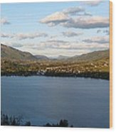 Coldstream Valley In Spring Wood Print