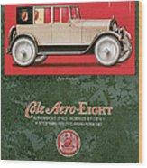 Cole Aero Eight Vintage Poster Wood Print