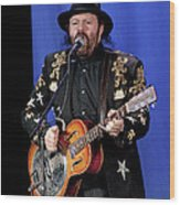 Colin Linden Of Blackie And The Rodeo Kings Wood Print