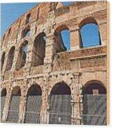 Coliseum 4 Wood Print