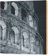 Colosseum Before Dawn Wood Print