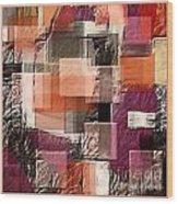 Collage 147 Wood Print