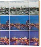 Collage - Kremlin View - Featured 3 Wood Print