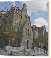 College Hall University Of Pennsylvania Wood Print
