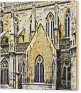 Collegiate St-martin Wood Print by Richard J Thompson