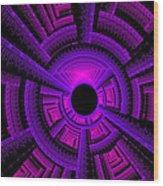 Collider Wood Print