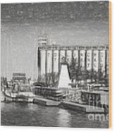 Collingwood Terminals In Old Days Wood Print