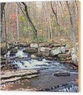 Collin's Creek Wood Print