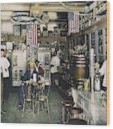 Collins Pharmacy, 1900 Wood Print