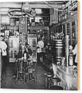 Collins Pharmacy, 1914 Wood Print