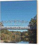 Collinsville Steel Bridge 1 Wood Print