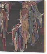 Colloquy Of Monos And Una Wood Print