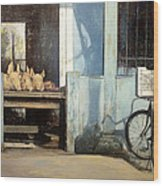 Colmado-havana Wood Print