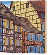 Colmar Alsace Wood Print