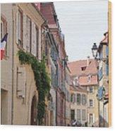 Colmar Small Street Wood Print