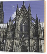 Cologne Cathedral 02 Wood Print