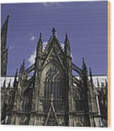 Cologne Cathedral 03 Wood Print
