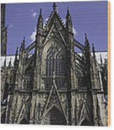 Cologne Cathedral 04 Wood Print